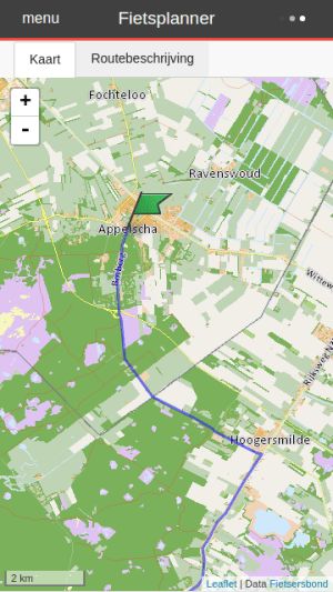 Fietsersbond Routeplanner 4.4.7 Screen 3