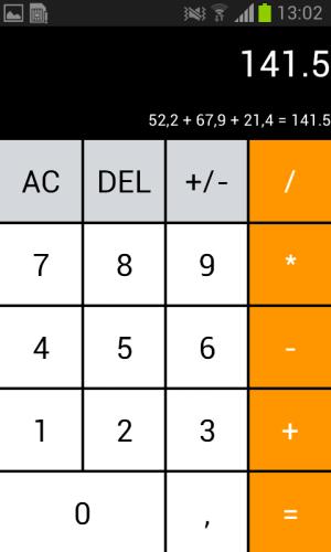 Android Calculator - Hesap Makinesi Screen 2