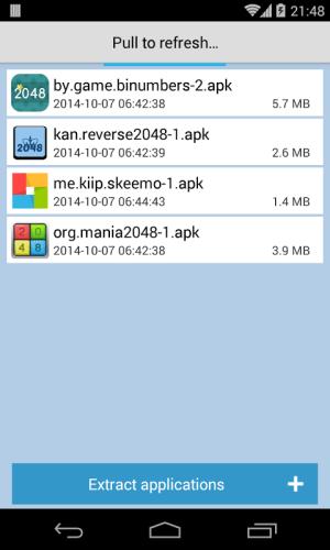 Apk Extractor - Get Apk Files 1.0 Screen 1