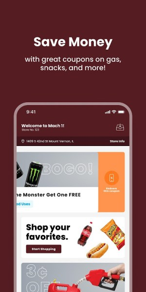 Mach 1 App 20.15 Screen 2