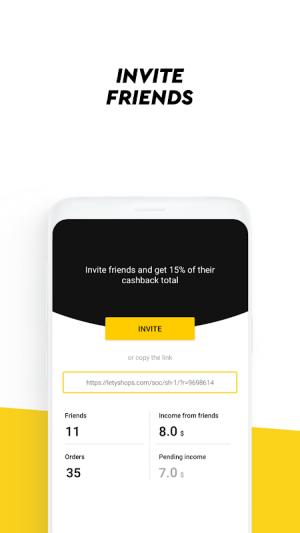 LetyShops cashback service 1.7.1 Screen 2