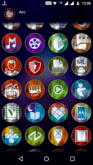 Arc - Icon Pack 4.5 Screen 5