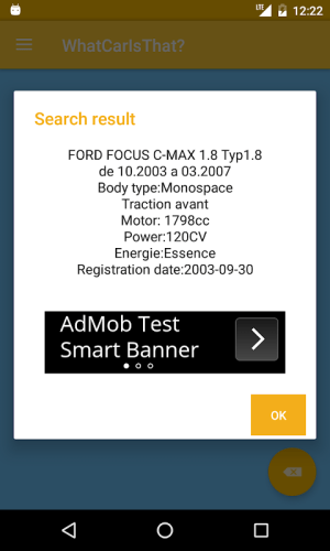What Car Is That? 7.7.3 Screen 9