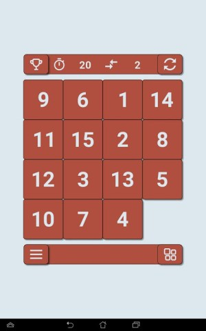 15 puzzle 2.1 Screen 11