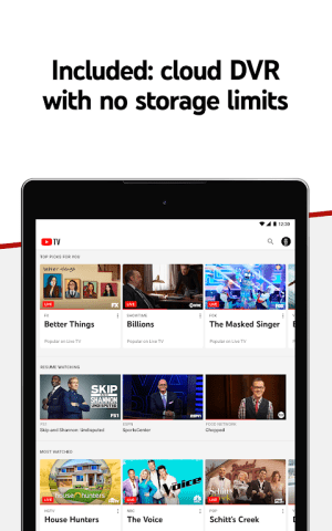 Android YouTube TV - Watch & Record Live TV Screen 8