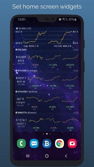 Crypto App - Widgets, Alerts, News, Bitcoin Prices 2.4.3 Screen 4