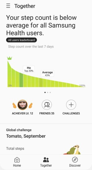 Samsung Health 6.7.2.011 Screen 3