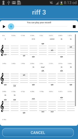 Music Translator (Recognition) 2.0 Screen 4