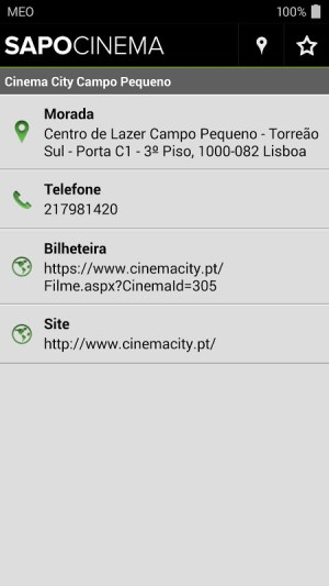 Android Cinema Screen 5