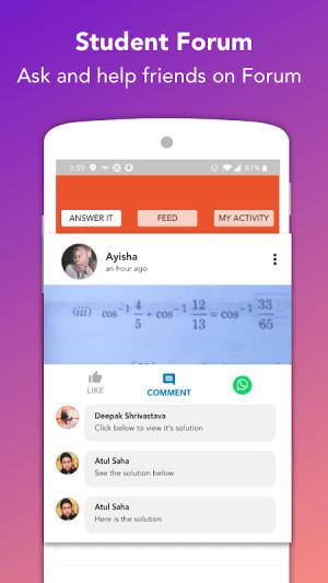 Doubtnut: NCERT Solutions, Free IIT JEE & NEET App apptioide.7.8.79 Screen 2