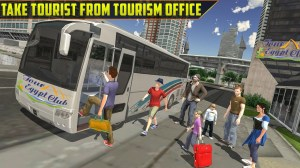 Android Offroad Bus Simulator Tourist Coach Driving Screen 3