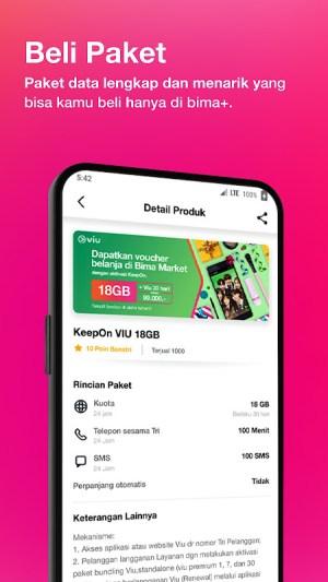 Bima+ - Buy & Check Tri Data, Game, and Rewards 4.0.1 Screen 12