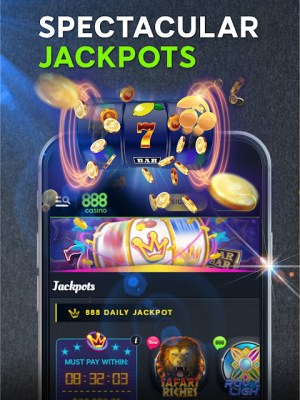Android 888 Casino: Slots, Live Roulette & Blackjack Games Screen 17