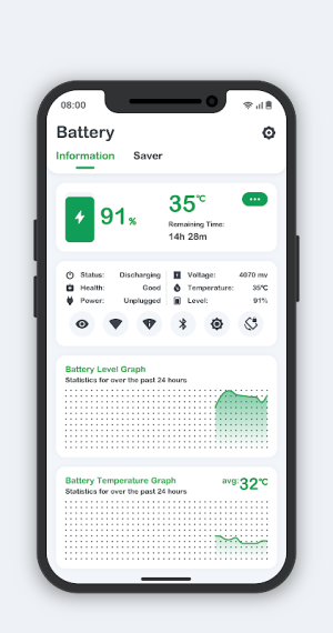 Battery Monitor 8.3.5 Screen 3