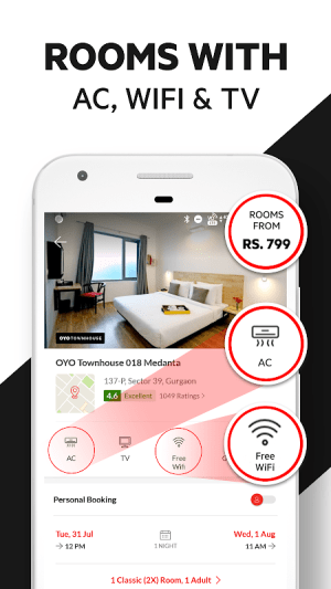 OYO: Find Best Hotels & Book Rooms At Great Deals 5.0.2 Screen 2
