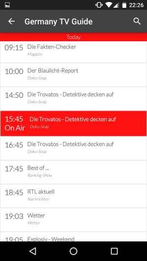 Germany Live TV Guide 4.0 Screen 4