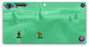Android The Wizard: Stickman War Screen 2