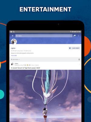Android Reddit Screen 1