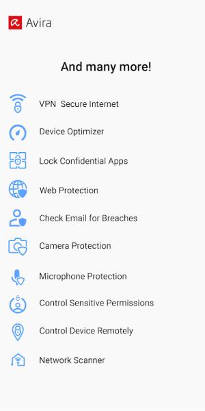 Avira Antivirus 2020 - Virus Cleaner & VPN 6.4.1 Screen 2