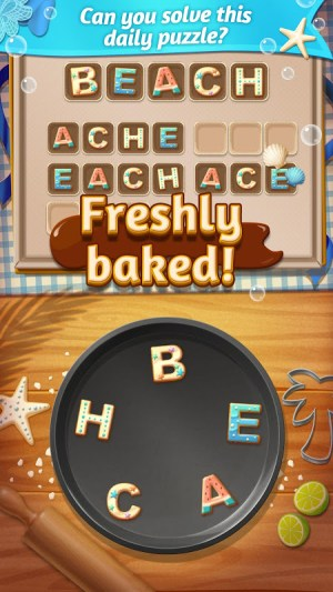 Android Word Cookies!® Screen 1