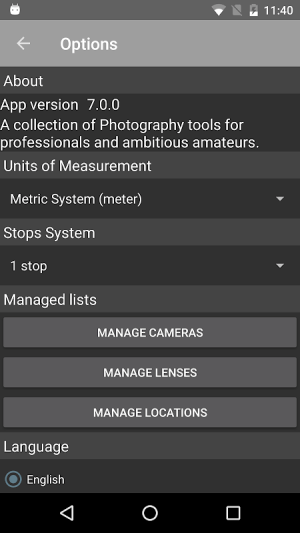 Android Photo Tools Screen 1