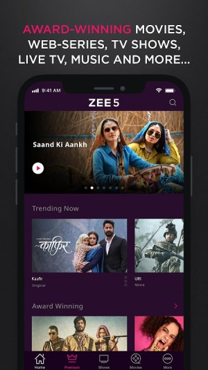 Android ZEE5 - Latest Movies, Originals & TV Shows Screen 2
