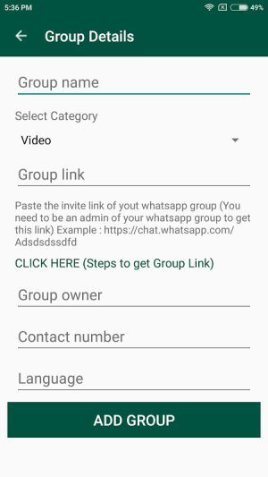 Groups for Whatsapp - Join now 1.0.3 Screen 3