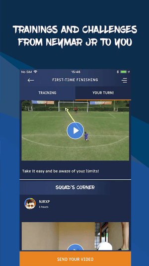 Neymar Jr Experience - train with Neymar Jr 4.0.1 Screen 1