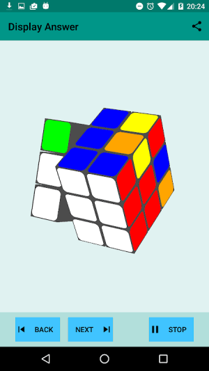 Easy Cube Solver 1.7 Screen 3