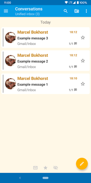 FairEmail - open source, privacy oriented email 1.1451 Screen 4