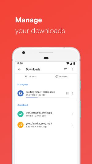 Opera browser beta 61.0.3040.55570 Screen 9