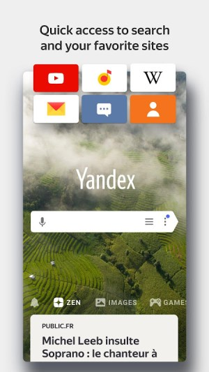 Yandex Browser with Protect 20.8.3.71 Screen 4