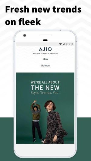 AJIO Online Shopping App 4.5 Screen 3