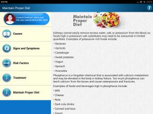 Kidney Renal Disease Diet Help friendly Foods Tips 2.7 Screen 6