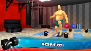 Android Fitness Gym Bodybuilding Pump Screen 2