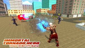 Android Immortal Tornado hero - Vegas Crime City Mafia Screen 10