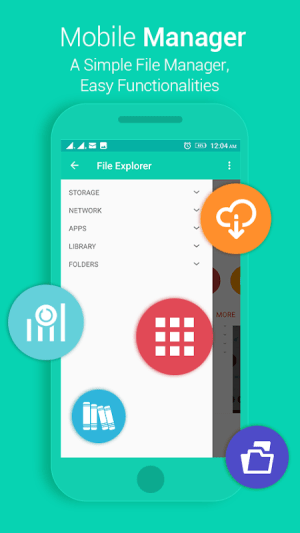Android File Explorer Screen 2