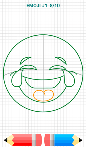 Android How to Draw Emoji Emoticons Screen 9