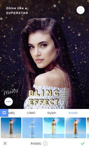 Meitu - Status Maker, Pic Filter & BeautyCam 9.1.1.0 Screen 4