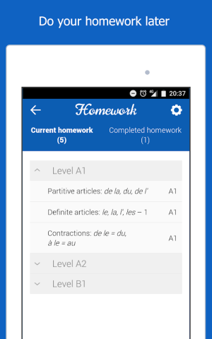 Dr French, French grammar 1.0.10 Screen 13