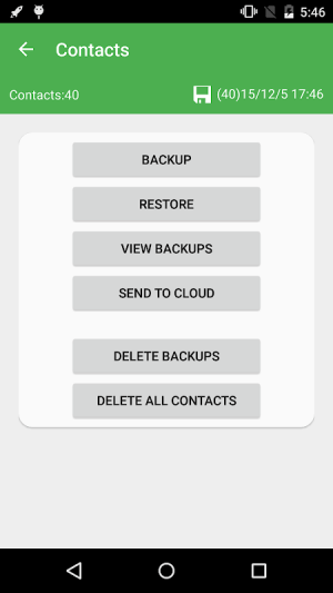 Super Backup & Restore 2.2.70 Screen 2