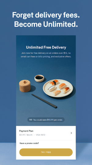 Android Postmates - Local Restaurant Delivery & Takeout Screen 5