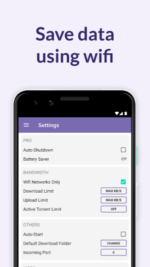 Android BitTorrent® Pro - Official Torrent Download App Screen 10