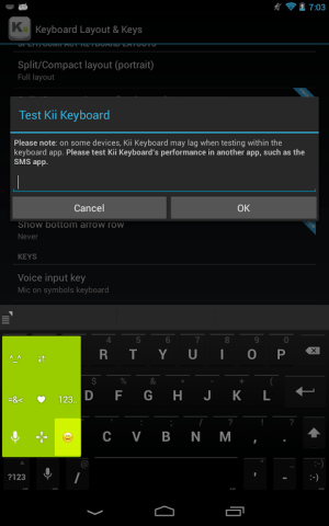 Kii Keyboard + Emoji 1.2.24 Screen 9
