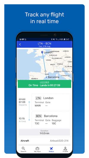 eDreams: Book cheap flights and travel deals 4.144.0 Screen 3