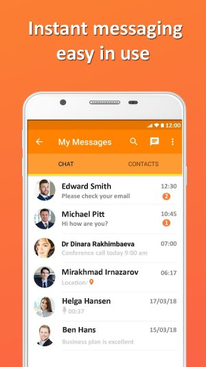 EXPO CHAT Business Messenger 5.2.2 Screen 1