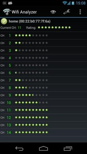 Wifi Analyzer 3.6.5 Screen 6