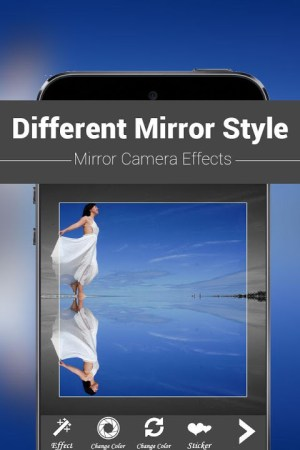 Android Mirror Camera Effects Screen 2