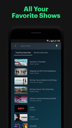 Android Hulu: Stream TV shows, hit movies, series & more Screen 11