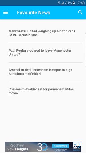 Football Transfer News 6.0 Screen 2